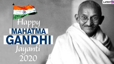 Gandhi Jayanti 2020 Images & HD Wallpapers for Free Download Online: Wish on Bapu's 151st Birth Anniversary With WhatsApp Stickers, Quotes, Facebook Photos and GIF Greetings