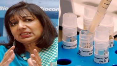 COVID-19 Vaccines in India to Be Approved by February, Will Be Available to Larger Population Between April to June, Says Kiran Mazumdar-Shaw