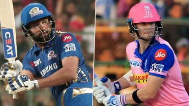 Mumbai Indians vs Rajasthan Royals, IPL 2020 Toss Report and Playing XI Update: Kartik Tyagi, Yashasvi Jaiswal Come in For RR As Rohit Sharma Opts to Bat First