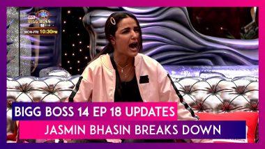 Bigg Boss 14 Episode 18 Updates | Oct 27 2020: Jasmin Bhasin Breaks Down