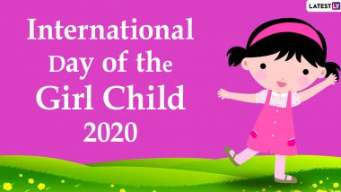 International Day of the Girl Child 2020 Wishes and HD Images: WhatsApp Stickers, Facebook Messages, GIFs and Greetings to Send to Your Girl Child