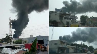 Ahmedabad Fire: Huge Blaze Erupts at Chemical Factory in Tulip Estate