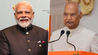 Maha Ashtami, Maha Navami 2020 Wishes: President Ram Nath Kovind, PM Narendra Modi Lead Politicians in Greeting Indians on Durga Puja Festivities