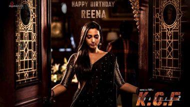 KGF Chapter 2: Prashanth Neel Shares Srinidhi Shetty's Look As Reena On Her Birthday!