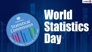 World Statistics Day 2020 Date and Theme: Know History and Importance of this Day, Who are its Organisers and How it is Celebrated