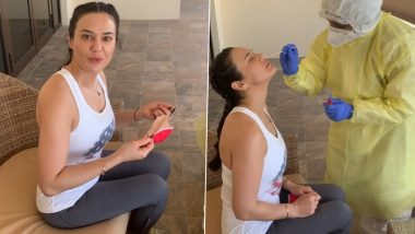 IPL 2020: Preity Zinta Undergoes 20th Coronavirus Test, Kings XI Punjab Owner Says 'I Have Become A COVID-19 Test Queen' (Watch Video)