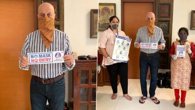 Anupam Kher Extends Heartfelt Gratitude To COVID-19 Warriors For Their Selfless Service (View Post)
