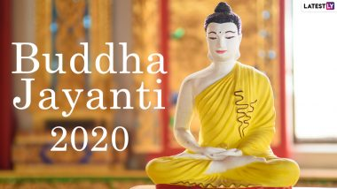 Buddha Jayanti 2020 Wishes, Quotes & Greetings: Send Gautama Buddha HD Images, WhatsApp Stickers, GIFs, Pics & Facebook Status Posts On The Special Day