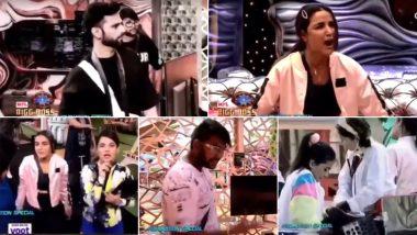 Bigg Boss 14 Preview: Jasmin Bhasin Loses Her S**T On Rahul Vaidya and Says 'I Cannot be Part of This Show', Naina Singh Tells Him 'Banja Thoda Ladki Kya Pata Ache Se Khel Le' (Watch Video)