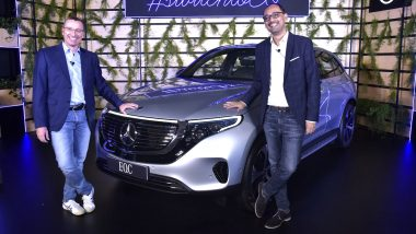 Mercedes-Benz EQC Luxury SUV Launched in India at Rs 99 Lakh; Prices, Features & All Details