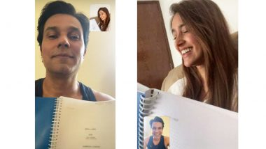 Unfair N Lovely: Randeep Hooda, Ileana D'Cruz are All Smiles During Their Virtual Script-Reading Session