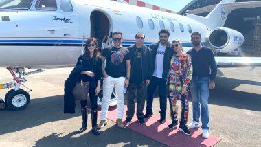 Bhoot Police: Saif Ali Khan, Jacqueline Fernandez, Yami Gautam and Arjun Kapoor Take a Private Jet to Kickstart Shoot of Their Upcoming Horror-Comedy