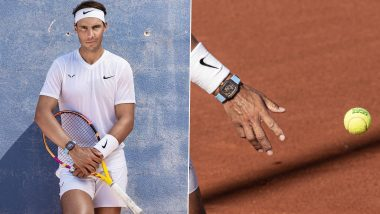 Rafael Nadal Sports £780k Worth Customised Richard Mille Watch During French Open 2020