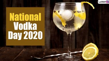 National Vodka Day 2020 (US): From Being Gluten-Free to Having Less Hangover Effect, Here Are 5 Interesting Facts About This Alcoholic Beverage