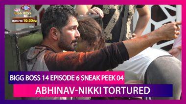 Bigg Boss 14 Episode 6 Sneak Peek 04 | Oct 9 2020: Abhinav Shukla, Nikki Tamboli Tortured