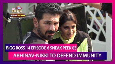 Bigg Boss 14 Episode 6 Sneak Peek 03 | Oct 9 2020: Abhinav & Nikki Tamboli's Immunity at Risk