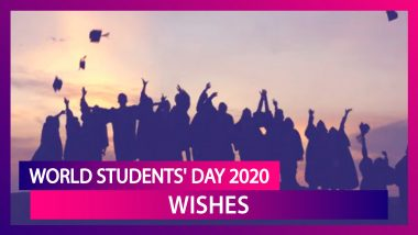 World Students' Day 2020 Wishes: Best Greetings to Send to Students And Boost Their Confidence