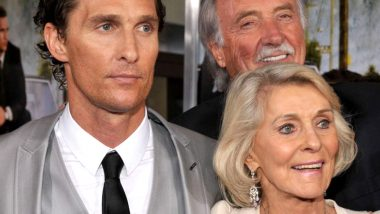 Matthew McConaughey Reveals His Father Died of a Heart Attack While Having Sex