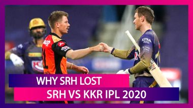 Hyderabad vs Kolkata IPL 2020: 3 Reasons Why Hyderabad Lost
