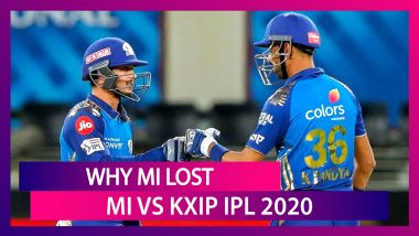 Mumbai vs Punjab IPL 2020: 3 Reasons Why MI Lost