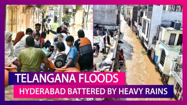Telangana Floods: Death Toll Rises To 61 As Heavy Rains Battered Hyderabad, IMD Predicts Heavy Downpour Till October 21