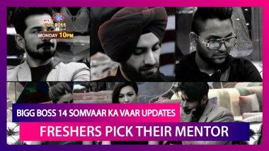 Bigg Boss 14 Somvaar Ka Vaar Updates|Oct 19 2020: Freshers Pick Their Mentor