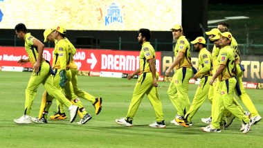 Chennai Super Kings vs Kolkata Knight Riders, IPL 2020 Toss Report and Playing XI Update: CSK Bring in Mitchell Santner, Lungi Ngidi As MS Dhoni Opts to Bowl vs KKR