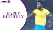 Pele Birthday Special: Top Goals Scored By The Brazil and Santos Footballing Icon