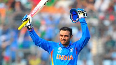 Virender Sehwag Birthday: ICC Share Video Montage of Every First-Ball Boundary by the Former Opener at 2011 Cricket World Cup As He Turns 42!