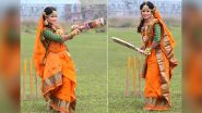 Bangladesh Women's Cricketer Sanjida Islam's Wedding Photoshoot on Cricket Field is Simply Amazing! (View Pics)