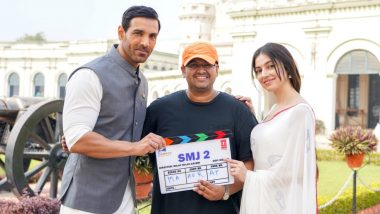 Satyameva Jayate 2: John Abraham, Divya Khosla Kumar Begin Shooting For Milap Javeri's Next In Lucknow (See Pic)