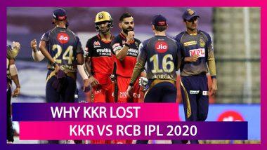 Kolkata vs Bangalore IPL 2020: 3 Reasons Why Kolkata Lost To Bangalore