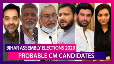 Bihar Assembly Election 2020: From Nitish Kumar, Tejashwi Yadav, Chirag Paswan To Pushpam Priya Chaudhary, List Of Probable Bihar CM Candidates