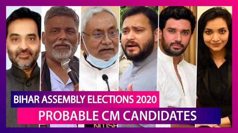 Bihar Assembly Election 2020: From Nitish Kumar, Tejashwi Yadav, Chirag Paswan To Pushpam Priya Chaudhary, List Of Probable Bihar CM Candidates