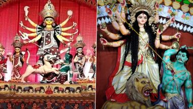 Happy Durga Puja 2020 Wishes, HD Images and Messages Trend on Twitter, Netizens Begin the Celebration of Durgotsav With Maha Sasthi by Sharing Heartfelt Greetings