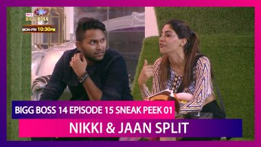 Bigg Boss 14 Episode 15 Sneak Peek 01 |Oct 22 2020: Captaincy Task Breaks Nikki & Jaan's Friendship