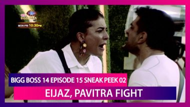 Bigg Boss 14 Episode 15 Sneak Peek 02 |Oct 22 2020: Eijaz Khan, Pavitra Punia Scream at Each Other