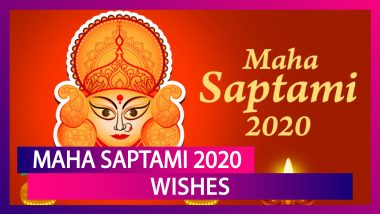 Maha Saptami 2020 Wishes: Share These Happy Durga Puja Messages to Celebrate the Festival