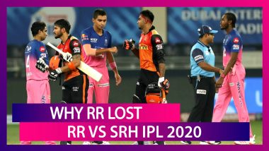 Rajasthan vs Hyderabad IPL 2020: 3 Reasons Why Rajasthan Royals Lost To Hyderabad