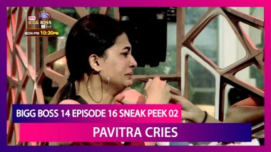 Bigg Boss 14 Episode 16 Sneak Peek 02 |Oct 22 2020: Pavitra Punia Breaks Down In Tears
