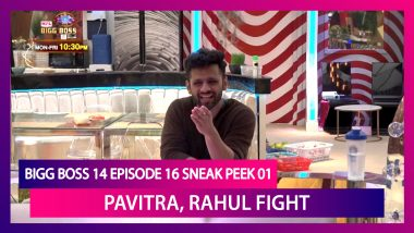 Bigg Boss 14 Episode 16 Sneak Peek 01 |Oct 22 2020: Pavitra Punia, Rahul Vaidya Fight Again