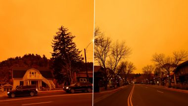 Colorado's East Troublesome Fire Jumps to Continental Divide, Videos and Photos Show Orange Skies As Raging Wildfire Prompts Mandatory Evacuations in the US State