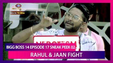 Bigg Boss 14 Episode 17 Sneak Peek 02 | Oct 26 2020: Rahul Nominates Jaan Over Nepotism