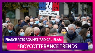 France Acts Against 'Radical Islam': Know Why #Boycottfrance Is Trending On Twitter; Turkish President Recep Tayyip Erdogan & Pakistan's PM Imran Khan Slam French President Macron's Views On Islam