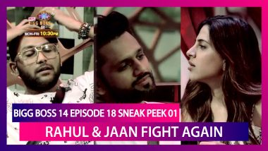 Bigg Boss 14 Episode 18 Sneak Peek 01 | Oct 27 2020: Rahul And Jaan's Fight Continue