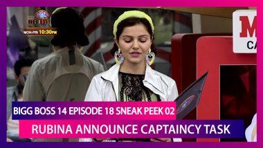 Bigg Boss 14 Episode 18 Sneak Peek 02 | Oct 27 2020: Rubina Announces New Captaincy Task
