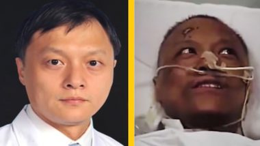Dr Yi Fan, Wuhan Doctor Whose Skin Turned Dark Because of COVID-19 Treatment Gets His Complexion Back After Fully Recovering From Coronavirus (Watch Video)