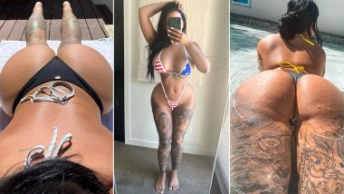 XXX Porn Star Renee Gracie Serves Us Some of the HOTTEST String Bikini Looks! Check out the OnlyFans Queen Pulling off Tiny Swimwears Like a Pro After the Kim K Butt-lift