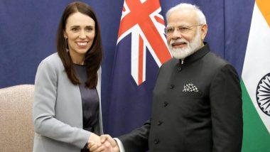 PM Narendra Modi Congratulates New Zealand Counterpart Jacinda Ardern on Winning General Elections