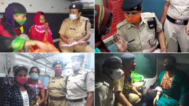 Meri Saheli Initiative Launched by RPF As Per Railway Directives For Security of Lady Passengers During Train Journey
